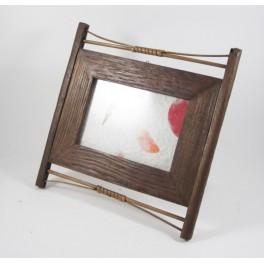 Cadre photo en teck et Bambou  10x15 - CP026