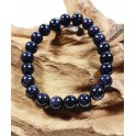 Bracelet de Pierres de Soleil Bleu - 8 mm
