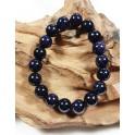 Bracelet de Pierres de Soleil Bleu - 10 mm