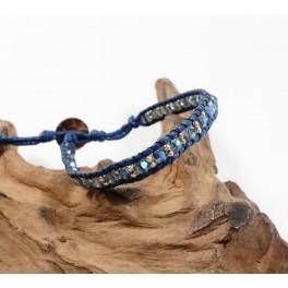Bracelet Ethnique Bleu - BR076