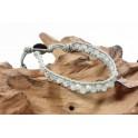 Bracelet Ethnique Gris - BR077