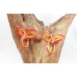 Boucles d'oreilles en Bambou (059)