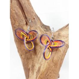 Boucles d'oreilles en Bambou (061)