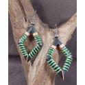 Boucles d'oreilles en Bois de Manguier (005)