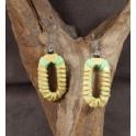 Boucles d'oreilles en Bois de Manguier (013)