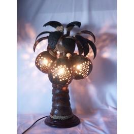 Lampe Cocotier en Noix de Coco
