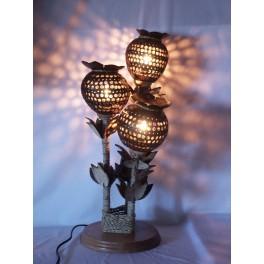 Lampe Design en Noix de Coco