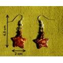 """Boucles d'oreilles en noix coco """"Dao"""""""
