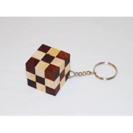 "Casse tête Porte-clé ""Snake Cube"""