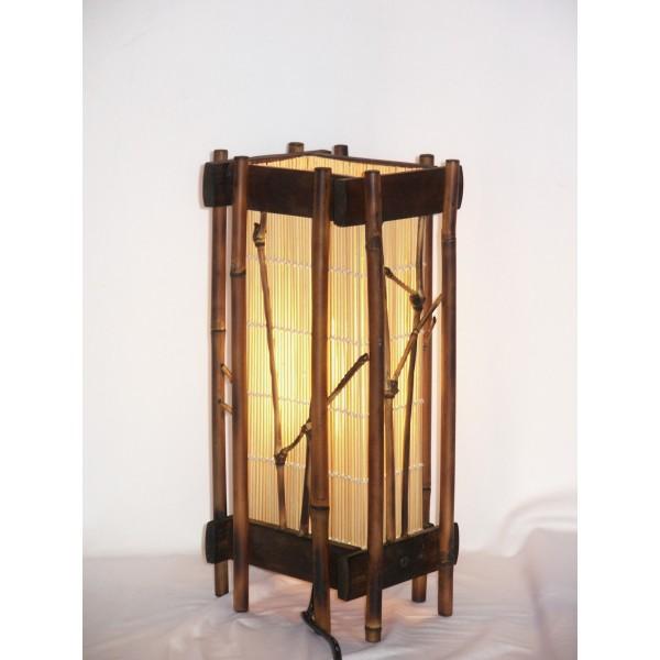 lampe en bambou. Black Bedroom Furniture Sets. Home Design Ideas