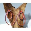 Boucles d'oreilles en Bambou