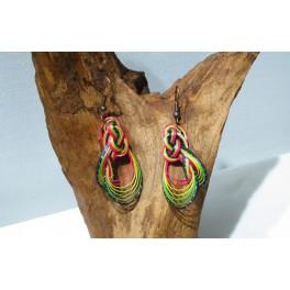 Boucles d'oreilles en Bambou (009)