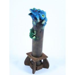 Brûle Encens Grenouille Bleu