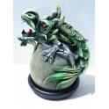 Cône Brûle Encens Dragon Vert