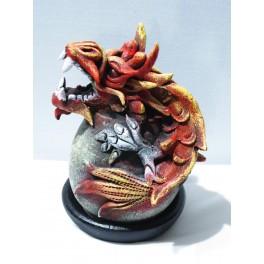 Cône Brûle Encens Dragon Rouge