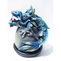 Cône Brûle Encens Dragon Bleu