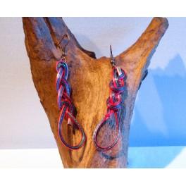 Boucles d'oreilles en Bambou (017