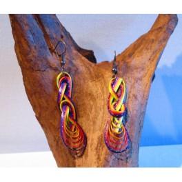 Boucles d'oreilles en Bambou (031)
