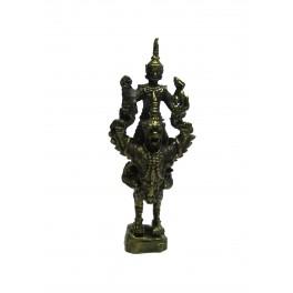Amulette Vishnu sur l'Aigle Garuda