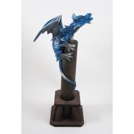 Brule Encens Dragon Volant Bleu