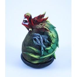 Cône Brûle Encens Dragon Vert et Rouge