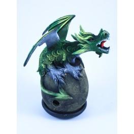 Cône Brûle Encens Dragon Volant Vert