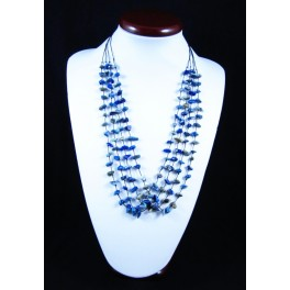 """Collier de pierres en """"Lapis Lazuli"""""""