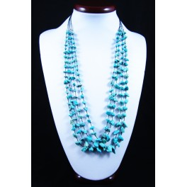 Collier de pierres Turquoise