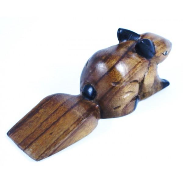 cale porte lapin sculpt en bois de suar. Black Bedroom Furniture Sets. Home Design Ideas