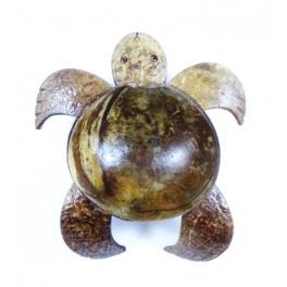 Vide-Poche Tortue en noix de coco