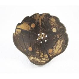 Porte-savon Coquillage en noix de coco