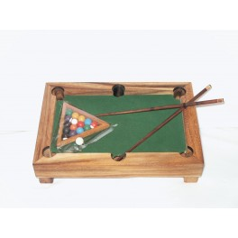 Mini Billard de table en bois