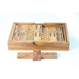 Domino 28 Pièces en bois