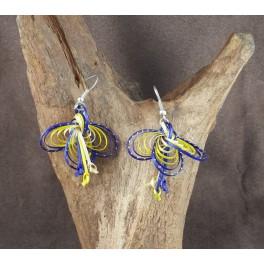 Boucles d'oreilles en Bambou (043)