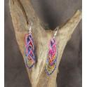Boucles d'oreilles en Bambou (044)