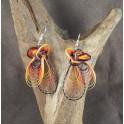 Boucles d'oreilles en Bambou (045)