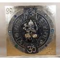 Tableau Ganesh Noir et Or - 60x60 - TB033